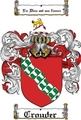 Thumbnail Crouder Family Crest  Crouder Coat of Arms