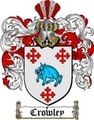 Thumbnail Crowley Family Crest  Crowley Coat of Arms