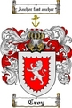 Thumbnail Croy Family Crest  Croy Coat of Arms