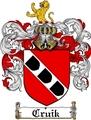 Thumbnail Cruik Family Crest  Cruik Coat of Arms