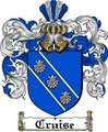 Thumbnail Cruise Family Crest  Cruise Coat of Arms