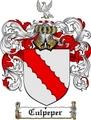 Thumbnail Culpeper Family Crest  Culpeper Coat of Arms