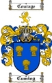 Thumbnail Cuming Family Crest  Cuming Coat of Arms