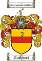 Thumbnail Cuthbert Family Crest  Cuthbert Coat of Arms
