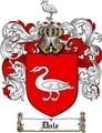 Thumbnail Dale Family Crest  Dale Coat of Arms
