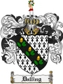 Thumbnail Dalling Family Crest Dalling Coat of Arms Digital Download