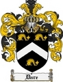 Thumbnail Dare Family Crest Dare Coat of Arms Digital Download