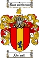 Thumbnail Darnell Family Crest  Darnell Coat of Arms