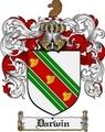 Thumbnail Darwin Family Crest Darwin Coat of Arms Digital Download