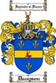 Thumbnail Dauyson Family Crest  Dauyson Coat of Arms
