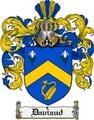 Thumbnail Daviaud Family Crest  Daviaud Coat of Arms