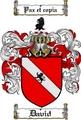 Thumbnail David Family Crest  David Coat of Arms