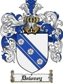 Thumbnail Dawney Family Crest Dawney Coat of Arms Digital Download