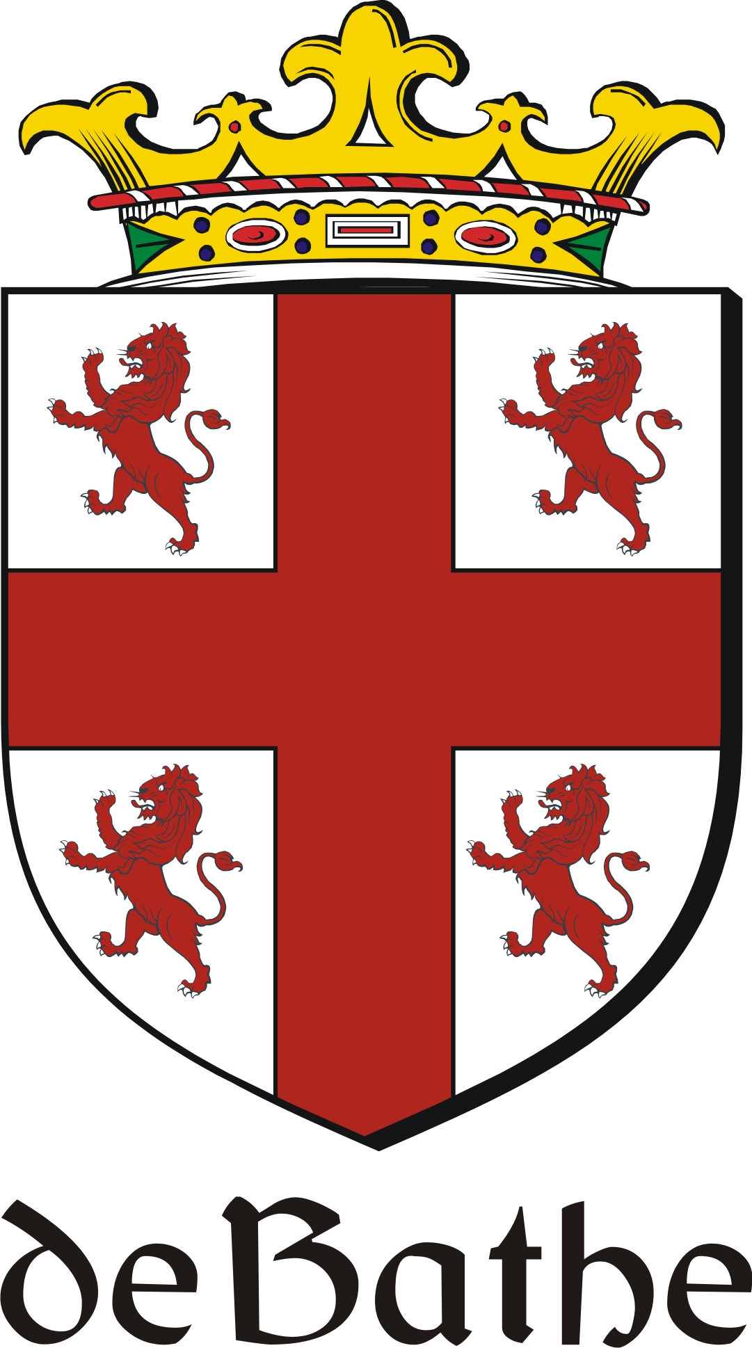 Thumbnail de Family Crest / Irish Coat of Arms Image Download