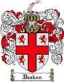 Thumbnail Deakan Family Crest Deakan Coat of Arms Digital Download