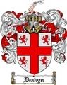 Thumbnail Deakyn Family Crest  Deakyn Coat of Arms