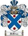 Thumbnail Debrian Family Crest  Debrian Coat of Arms