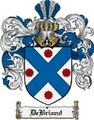 Thumbnail Debriand Family Crest  Debriand Coat of Arms