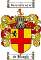 Thumbnail Deburgh Family Crest  Deburgh Coat of Arms