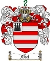 Thumbnail Deel Family Crest  Deel Coat of Arms