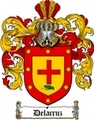Thumbnail Delacruz Family Crest  Delacruz Coat of Arms