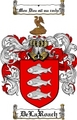 Thumbnail Delaroach Family Crest  Delaroach Coat of Arms