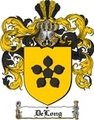 Thumbnail Delong Family Crest  Delong Coat of Arms