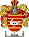 Thumbnail Demel Family Crest  Demel Coat of Arms