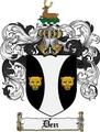 Thumbnail Den Family Crest Den Coat of Arms Digital Download