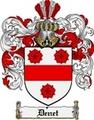 Thumbnail Denet Family Crest  Denet Coat of Arms