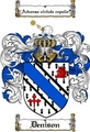 Thumbnail Denison Family Crest  Denison Coat of Arms