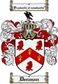 Thumbnail Denman Family Crest Denman Coat of Arms Digital Download