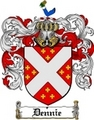 Thumbnail Dennie Family Crest  Dennie Coat of Arms