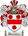 Thumbnail Denonfoux Family Crest  Denonfoux Coat of Arms
