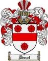 Thumbnail Denot Family Crest  Denot Coat of Arms