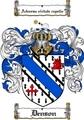 Thumbnail Denson Family Crest  Denson Coat of Arms