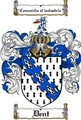 Thumbnail Dent Family Crest  Dent Coat of Arms