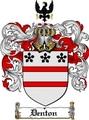 Thumbnail Denton Family Crest  Denton Coat of Arms