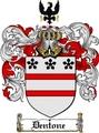 Thumbnail Dentone Family Crest  Dentone Coat of Arms
