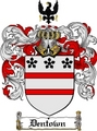 Thumbnail Dentown Family Crest  Dentown Coat of Arms