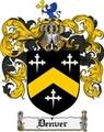 Thumbnail Denver Family Crest Denver Coat of Arms Digital Download