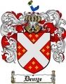 Thumbnail Denye Family Crest  Denye Coat of Arms