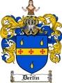 Thumbnail Derlin Family Crest  Derlin Coat of Arms
