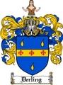 Thumbnail Derling Family Crest  Derling Coat of Arms