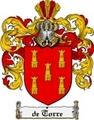 Thumbnail Detorre Family Crest  Detorre Coat of Arms