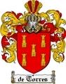 Thumbnail Detorres Family Crest  Detorres Coat of Arms