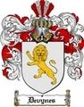 Thumbnail Devynes Family Crest  Devynes Coat of Arms