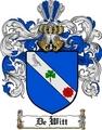 Thumbnail Dewitt Family Crest  Dewitt Coat of Arms