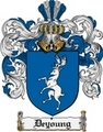 Thumbnail Deyoung Family Crest  Deyoung Coat of Arms