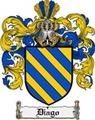 Thumbnail Diago Family Crest  Diago Coat of Arms